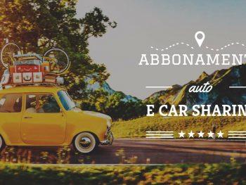 Abbonamento auto e car sharing