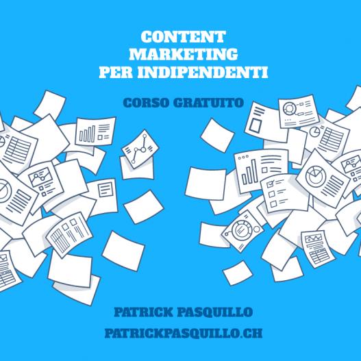 Corso content marketing per indipendenti